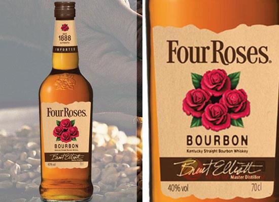 四玫瑰和杰克丹尼區別,進口威士忌對比