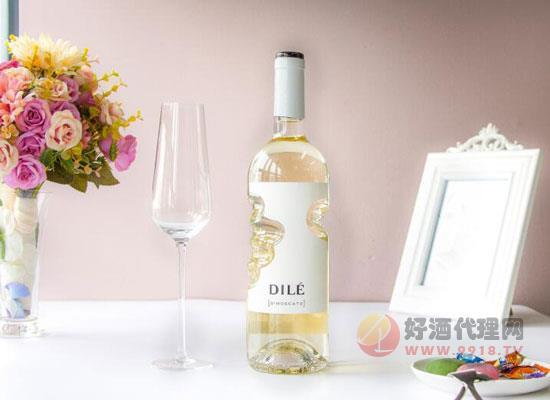 Dile天使之手白葡萄酒,只有5度,更甜更美!