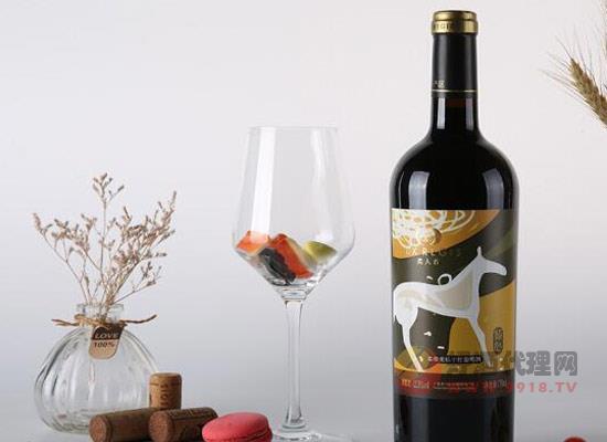 類人首柔雅系列傾心美樂干紅葡萄酒多少錢一瓶