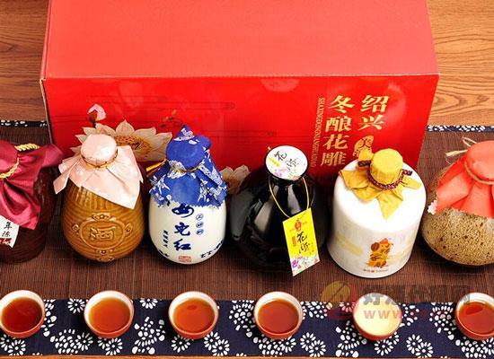 黃酒禮盒推薦,六壇不同口味,嘗遍紹興美酒!