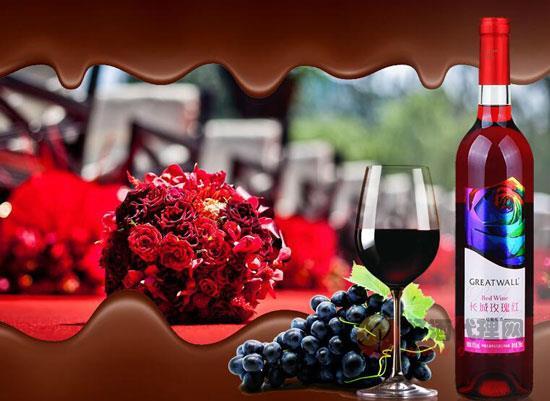 """長城玫瑰紅甜型葡萄酒,不止是女生的""""小心肝兒"""""""