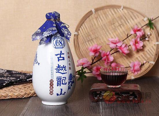 古越龍山花雕酒怎么開,壇裝、石膏封開瓶方法
