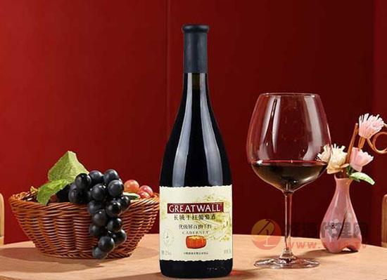 長城解百納干紅葡萄酒多少錢,長城解百納750ml價格