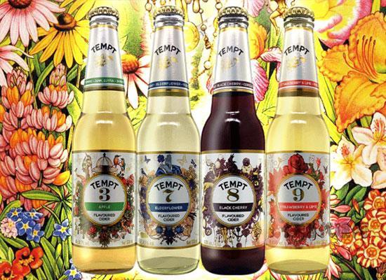 誘惑西打果味啤酒怎么樣,不同味道不同特點