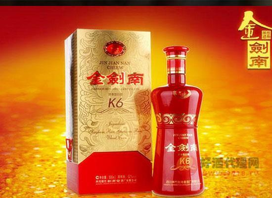 劍南春k6白酒怎么樣,喝起來味道如何