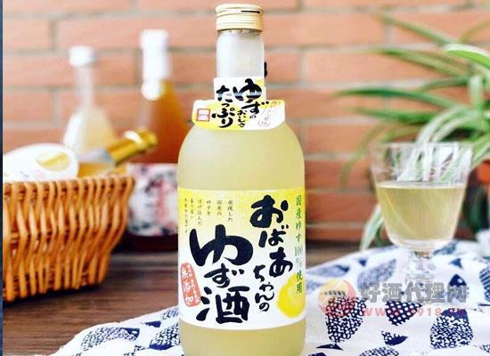 外婆家柚子利口酒怎么樣,知名品牌,值得信賴