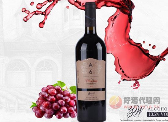 香格里拉红酒a6价格怎么样,一瓶多少钱