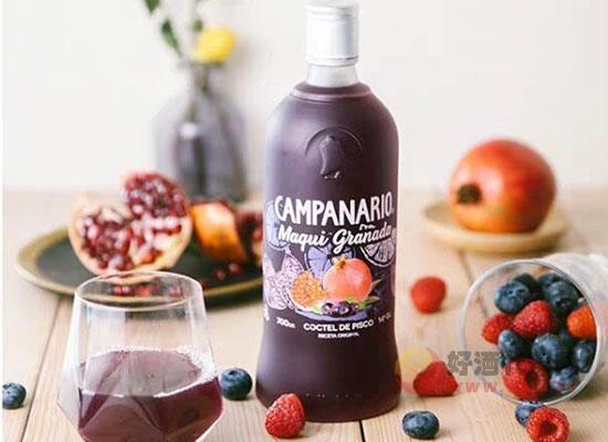 藍莓雞尾酒好喝嗎,藍莓雞尾酒喝起來味道如何
