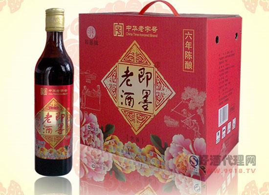 即墨老酒價格貴嗎,即墨老酒長春半甜焦香型黃酒1.8L多少錢