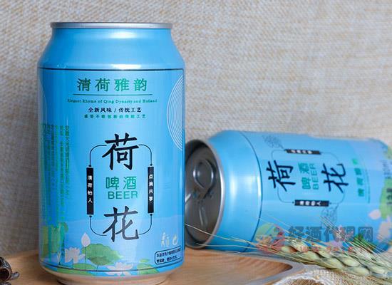 龅牙兔雅韵荷花啤酒330毫升24罐装价格