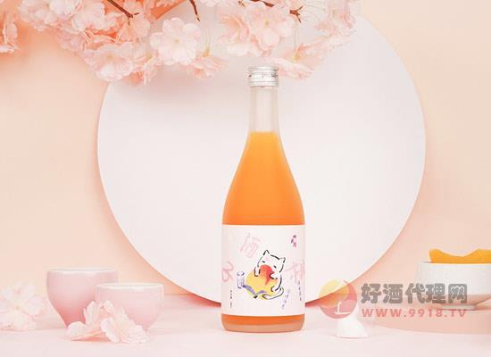四月清貪吃貓桃子酒價格怎么樣,一瓶多少錢