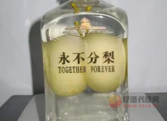 五糧液永不分梨酒中的梨怎么放進去,會變質嗎
