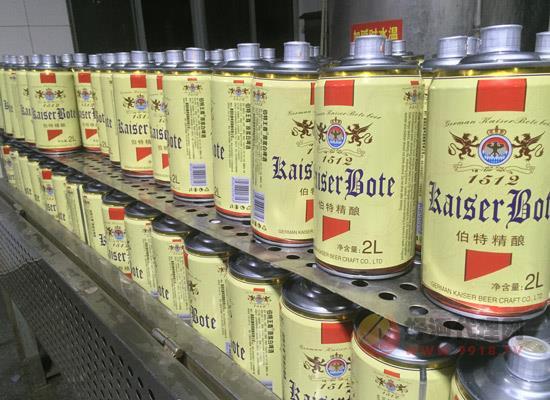 德国凯撒啤酒5l桶装,大容量更尽兴!
