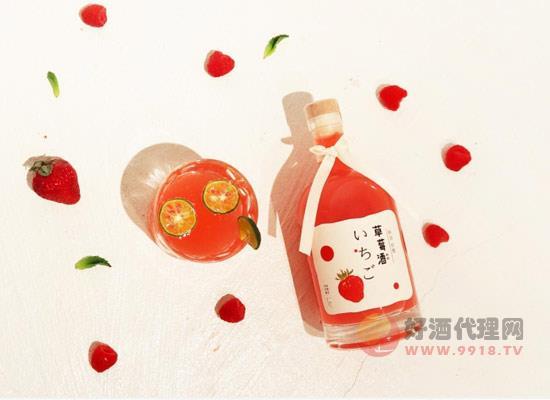 草莓果酒好喝吗,草莓酒的特色有哪些