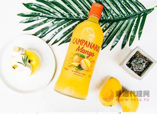 智利卡裴娜芒果味雞尾酒,只想與你一同分享!