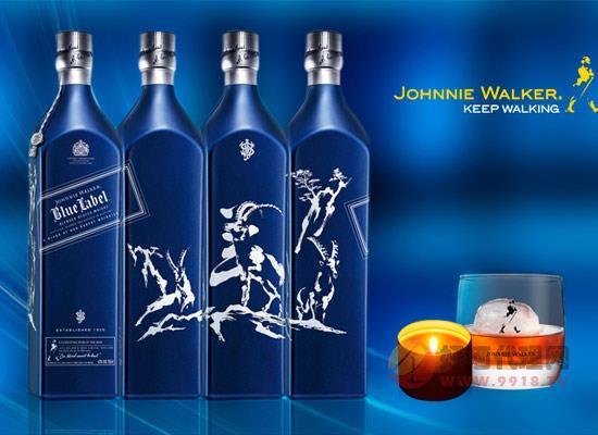 尊尼獲加藍牌三羊開泰威士忌怎么樣,味道如何