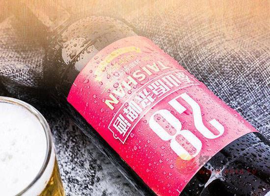 泰山原漿啤酒怎么樣,開一個泰山啤酒直營店掙錢嗎