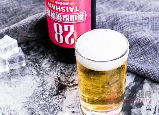 泰山28原漿啤酒多少錢,泰山28原漿啤酒450ml箱裝價格