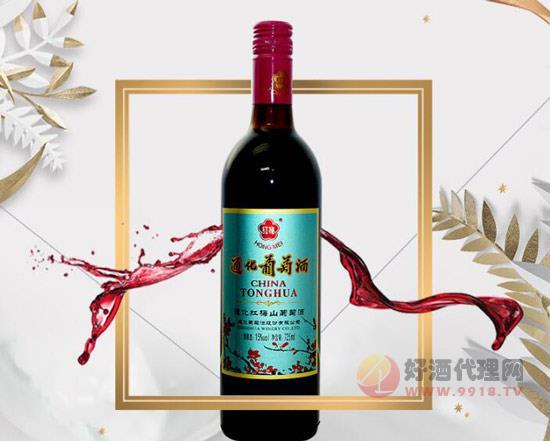 通化葡萄酒红梅15度多少钱,通化红梅葡萄酒价格