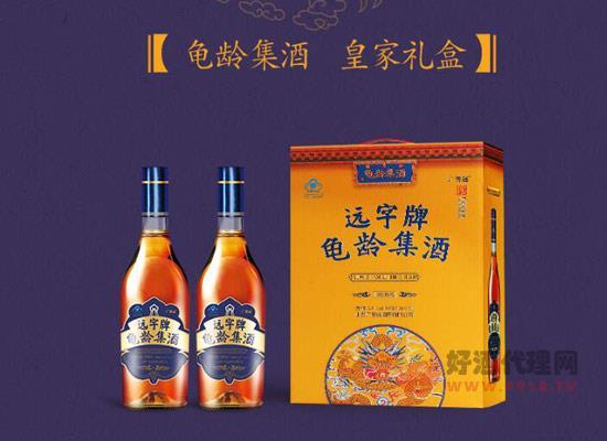 廣譽遠龜齡集酒多少錢一瓶,龜齡集酒500ml價格