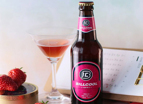 草莓味啤酒價格怎么樣,比爾酷草莓精釀啤酒一瓶多少錢