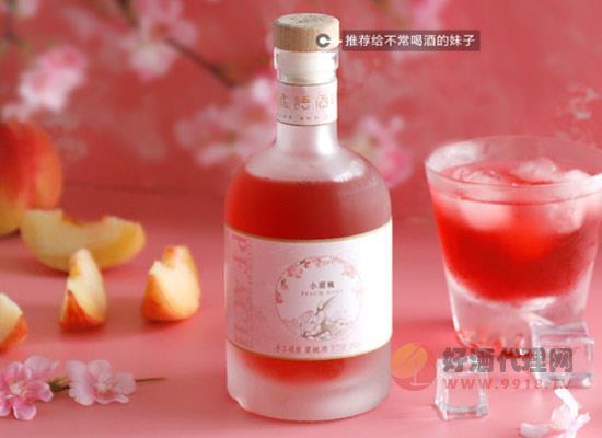 花語酒時桃子酒怎么樣,營養功效有哪些