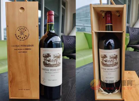 拉菲巖石古堡干紅葡萄酒,1.5升大容量更盡興!