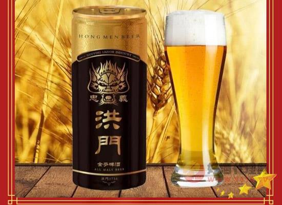 忠義真兄弟,暢飲洪門啤,邀您品鑒洪門忠義精釀啤酒!