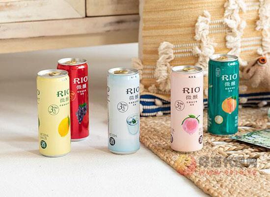 雞尾酒rio銳澳易拉罐賣多少錢,微醺全系列罐裝價格