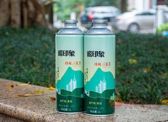 少喝点,喝好点,就选青岛崂印象精酿原浆!