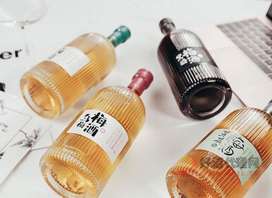 赋比兴果酒好喝吗,四种口味多种选择