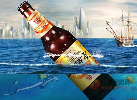 好泉水好啤酒,龙山泉原浆白啤好喝不