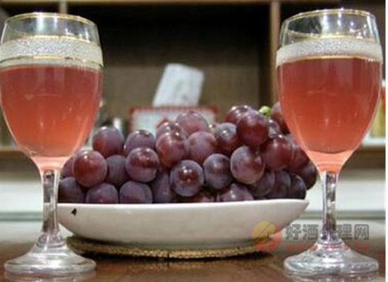制作葡萄酒的方法,夏天可口可爱的自制酒