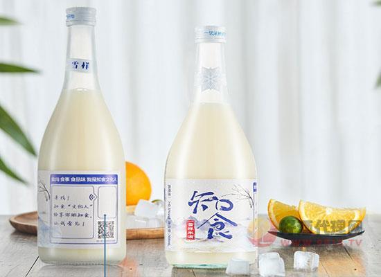 知食雪样糯米酒好喝吗,喝起来味道如何