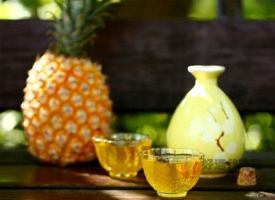 什么是菠萝酒,菠萝酒喝起来味道如何