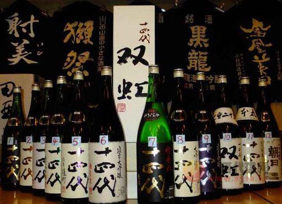 清酒品牌大全,十大日本清酒品牌介绍