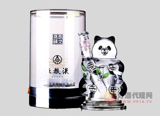 五糧液熊貓酒怎么樣,特色是什么