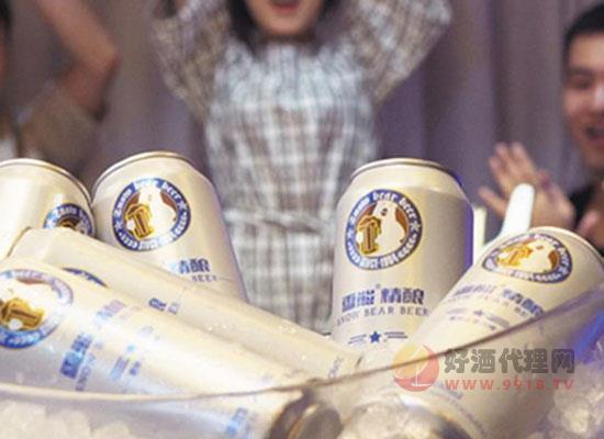 雪熊啤酒多少錢一箱,雪熊精釀全麥白啤價格