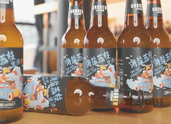 国产小众啤酒怎么样,优布劳海盐荔枝果酒好喝吗