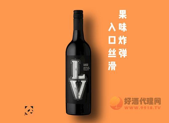蓝威酒庄西拉赤霞珠干红葡萄酒,果味炸弹,入口丝滑