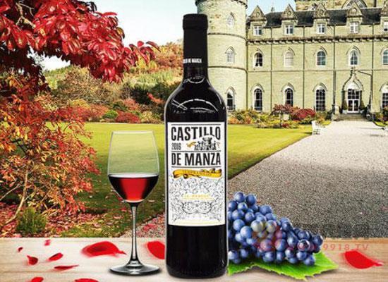 曼扎城堡紅葡萄酒價格,多少錢一瓶