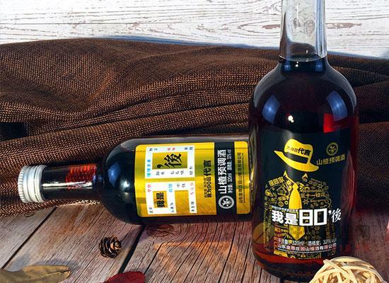 盛世皇尊山楂預調酒,國產佳釀,烈柔相融