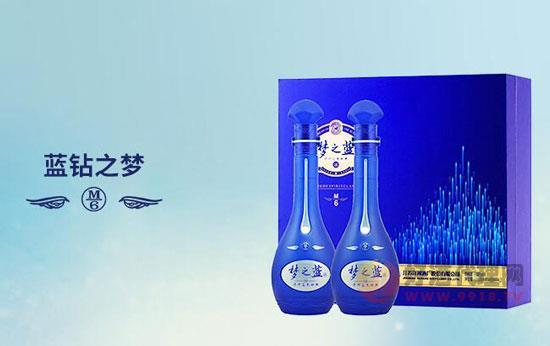 """洋河夢之藍m6,送人體面,滿滿""""高級感""""!"""