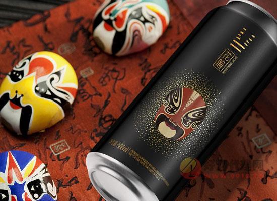 雪花花脸啤酒,用中国美学演绎酒之魅力