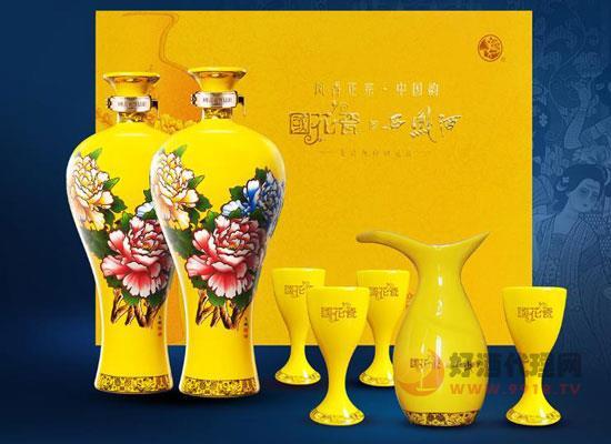 國花瓷西鳳酒,流淌出濃厚的中國韻味