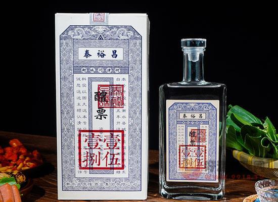 泰裕昌醴票白酒适合送礼吗,一箱价格怎么样