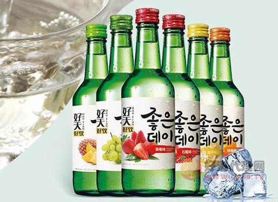 韩国烧酒好喝吗,盘点三种受欢迎的韩国烧酒