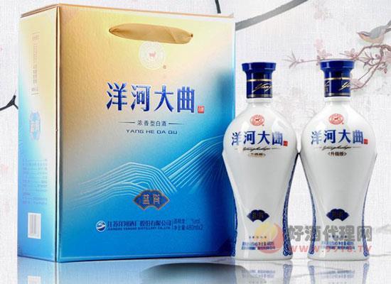 洋河青花瓷價格怎么樣,洋河藍瓷多少錢一瓶