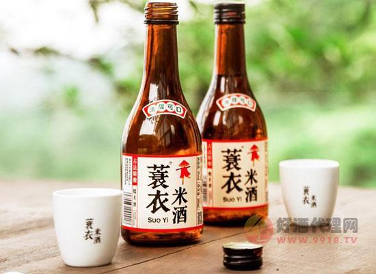 蓑衣米酒多少錢一瓶,蓑衣米酒價格介紹