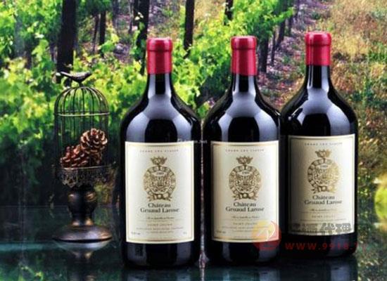 金玫瑰城堡干紅葡萄酒,餐桌上的新寵